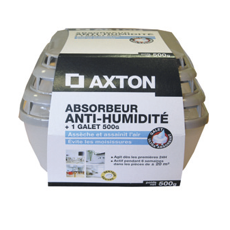 ABSORBEUR HUMIDITE AXTON+500G