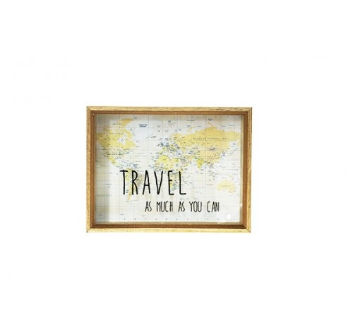 TIRELIRE TRAVEL 26X20CM