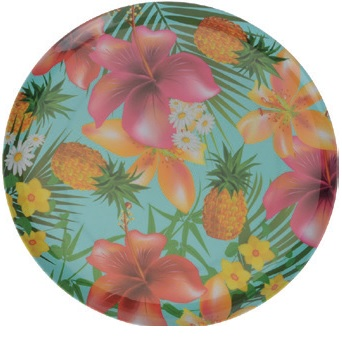 ASSIETTE TROPICAL D20CM  *****