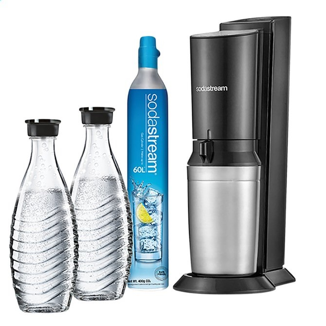 SODASTREAM CRYSTAL BLACK METAL