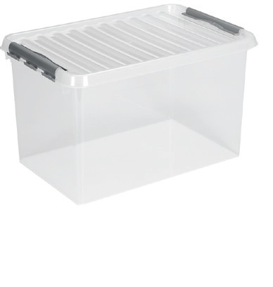 BOX QLINE 72L TRANSPARENT