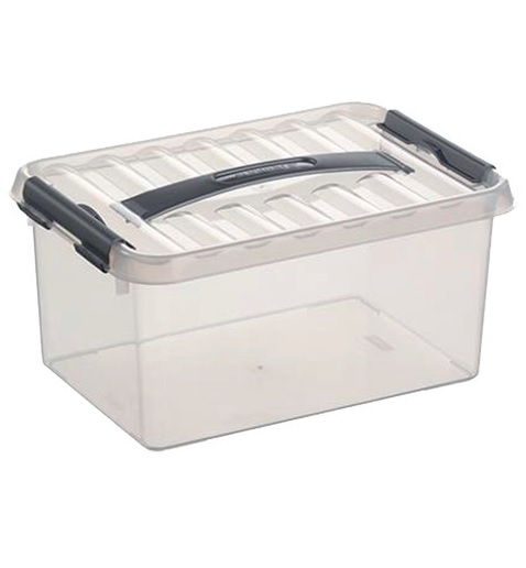 BOX Q LINE 6L 3+1 TRANSPARENT
