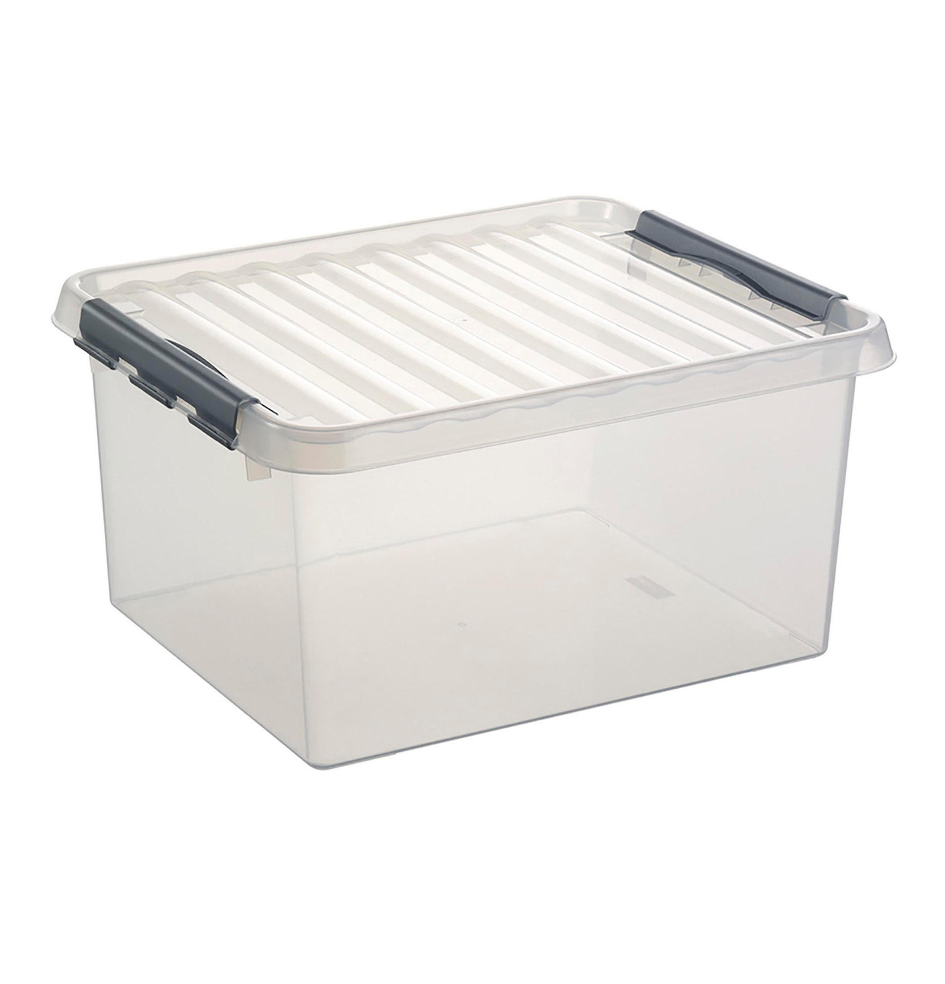 BOX Q LINE 120L TRANSPARENT