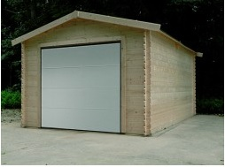 Garage traditional + porte sectionnelle