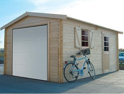 Garage S8946 + porte sectionnelle